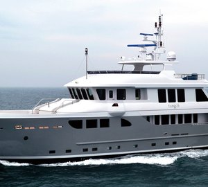 Newly launched first 115-foot Expedition Yacht TANGO 5 by Horizon