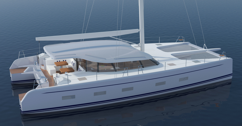 Ocean Quality Systems Explorer catamaran yacht C-60 concept