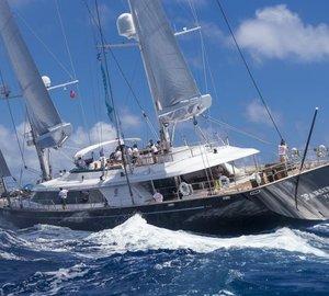 Loro Piana Caribbean Superyacht Regatta 2013: Day 1 - Victory of charter yachts SALPERTON and PARSIFAL III