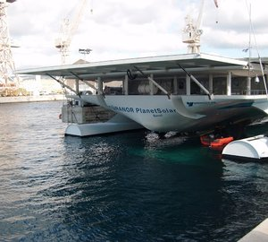 PlanetSolar starts her 2013 expedition