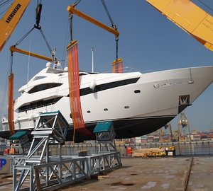 PSP Logistics delivers 40M Sunseeker Yacht PRINCESS K to Dubai Boat Show 2013 on time