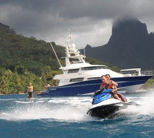 Fantastic TAHITI yacht charter special for ULTIMATE LADY  superyacht