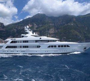 Abeking & Rasmussen launch 82m Mega Yacht SECRET