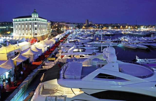Luxury Yachts at the Croatia Boat Show located in Split a popular Croatia Yacht Charter destination