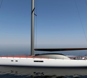 Tim Gilding reveals 30m high-performance sailing yacht Project IMMERSION concept