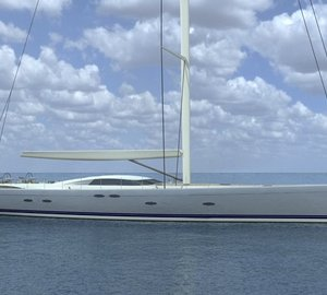 Construction of the 45m Holland Jachtbouw Yacht Y3 well underway
