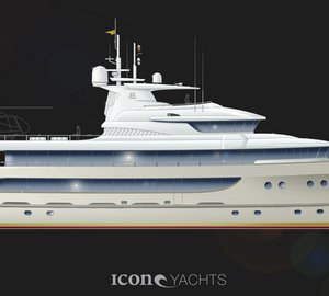 ICON Yachts Design Challenge: 59m superyacht conversion design by Ivan Erdevicki