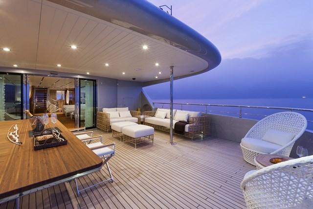 Aboard Vicem 46 Yacht Vulcan