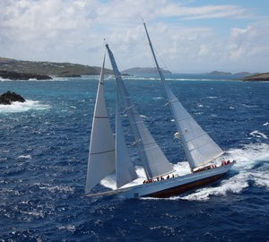 Dykstra designed luxury yacht ADELA wins St Barths Bucket 2013