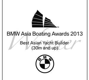 'Best Asia Yacht Builder Award' 2013 for Kingship