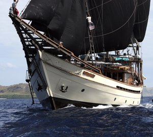 Asia Superyacht Rendezvous 2012 'Parade Formation' featured 458m of sail and motor Superyachts