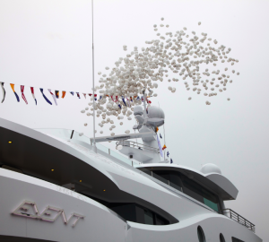First Amels 199 charter yacht EVENT christened