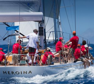 Final day of racing at Les Voiles de St. Barth 2013