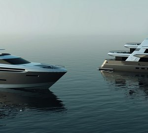 Two new Explorer Yachts sold by Drettmann Yachts this spring