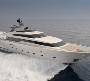Sanlorenzo SL94 motor yacht BOREAL to be exhibited at Antibes Yacht Show 2013