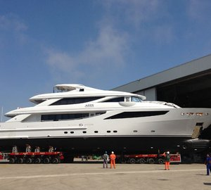 ISA to deliver 41m Classic motor yacht AZIZA by the end of June 2013
