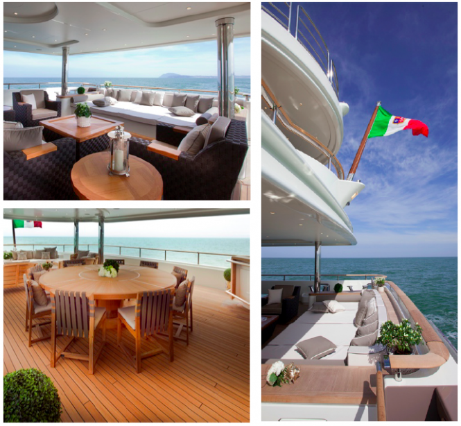 J'Ade yacht by CRN - Exterior areas