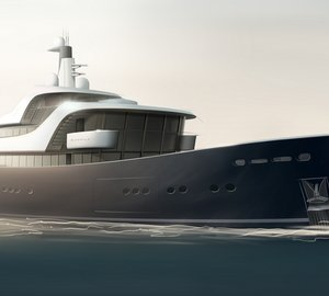 New 50m motor yacht SUMMER concept - Superyacht conversion project by Jim Robert Sluijter