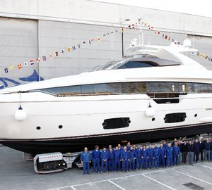 Motor yacht Ferretti 960 - new flagship launched by Ferretti Yachts