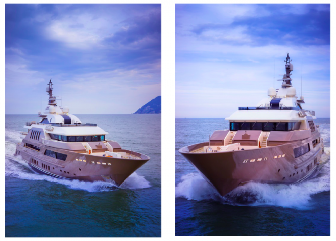 Luxury superyacht J'Ade by CRN