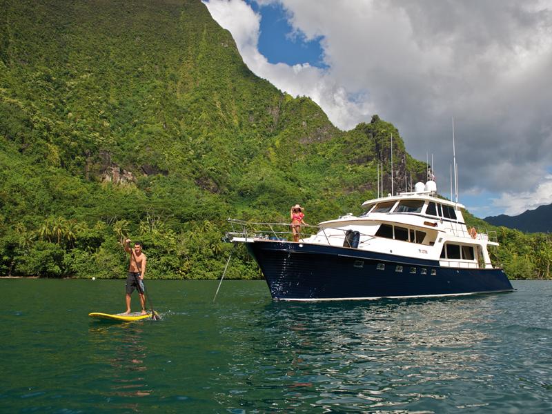 Miss Kulani yacht in Tahiti - Photo by Tim McKenna Photography©