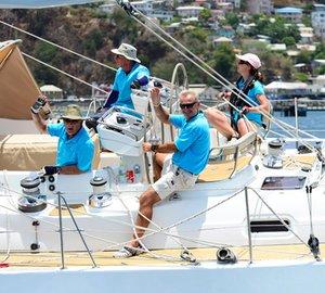 Oyster Regatta Grenada 2013: Thrills and Spills