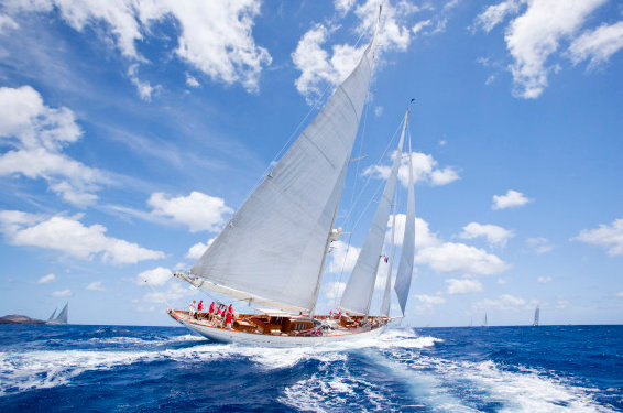 Pendennis restored luxury yacht Adela - Image courtesy of Pendennis
