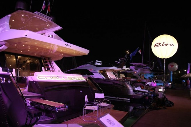 Riva at the Singapore Yacht Show 2013