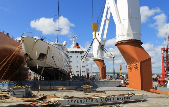 Sevenstar Yacht Transport strengthens its commitment in West
