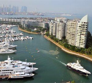 Singapore Yacht Show 2013 now officially open