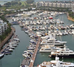 Singapore Yacht Show 2013: Glamour and Luxury