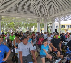Marine Industry Cares Foundation's Spin-A-Thon raises $150,000