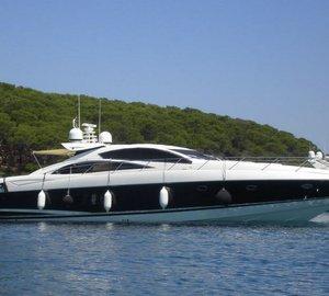 Sunseeker Predator 72' Yacht AVRORA to be exhibited at Antibes Yacht Show 2013