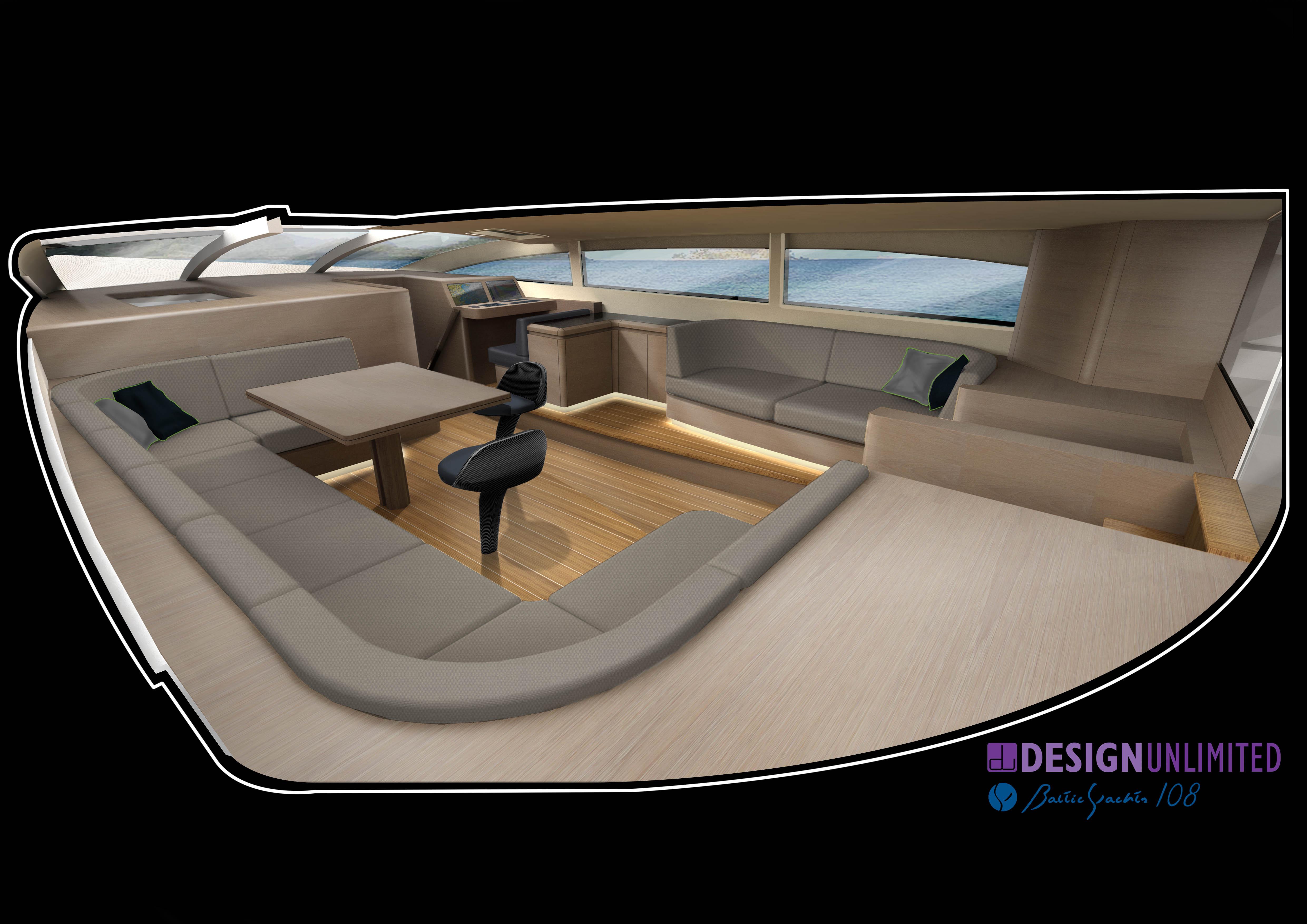 WinWin yacht - Saloon