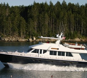 New owner for 26m Lyman-Morse motor yacht ACADIA designed by Setzer Yacht Architects