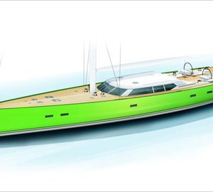 All-new 33m sailing yacht INOUI launched by Vitters