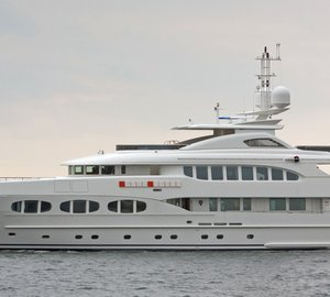 Omega Architects designed LADY PETRA Yacht wins World Superyacht Award 2013