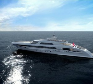 65m motor yacht GALACTICA STAR (Project Omnia) launched by Heesen Yachts