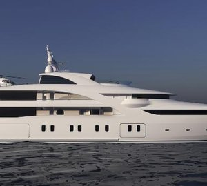 New 82m Blohm + Voss motor yacht GRACEFUL to be delivered at the end of 2013