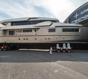 Launch of Admiral Impero 40 motor yacht CACOS V