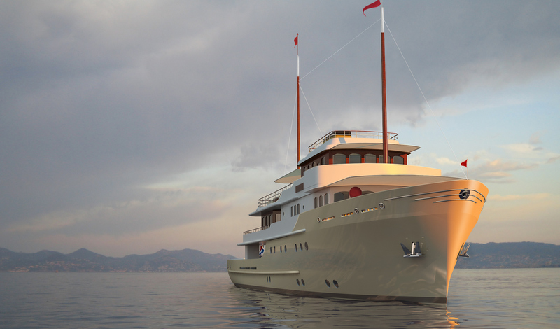B-52 Yacht - front view — Yacht Charter & Superyacht News