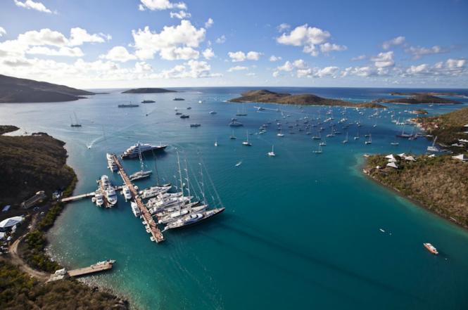British Virgin Islands - Image Courtesy of Caribbean Superyacht Regatta & Rendezvuos