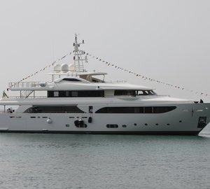 CRN launch 43m motor yacht LADY GENYR