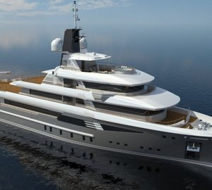 First 50m Cosmo Explorer motor yacht Hull 163.10 launched