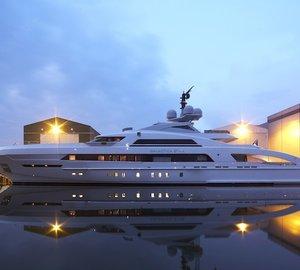 Heesen Yachts launch 65m GALACTICA STAR yacht (YN16465)