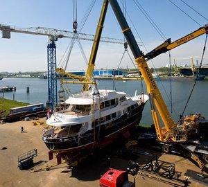 Lynx Yachts launch 33m motor yacht HELIAD II designed by Diana Yacht Design