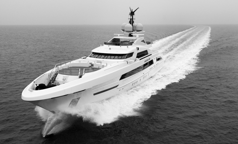 Luxury mega yacht Galactica Star