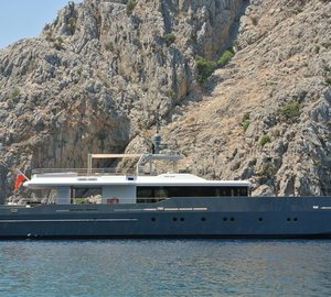 World Superyacht Award 2013 for ONLY NOW Yacht with naval architecture by Diana Yacht Design