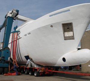 Moonen 100 motor yacht Hull YN195 launched