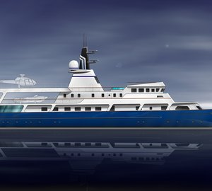 New conversion proposal for 65m motor yacht VAN TRIUMPH introduced by Adam Voorhees